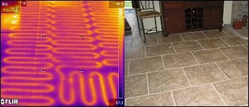Radiant Heat Systems in Floors, Patios and Driveways
